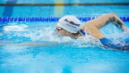 การสนับสนุนของ ProMinent สามารถเห็นได้ทั่วโลก จากชุดว่ายน้ำของ Sarah Köhler และบนหมวกว่ายน้ำของเธอ